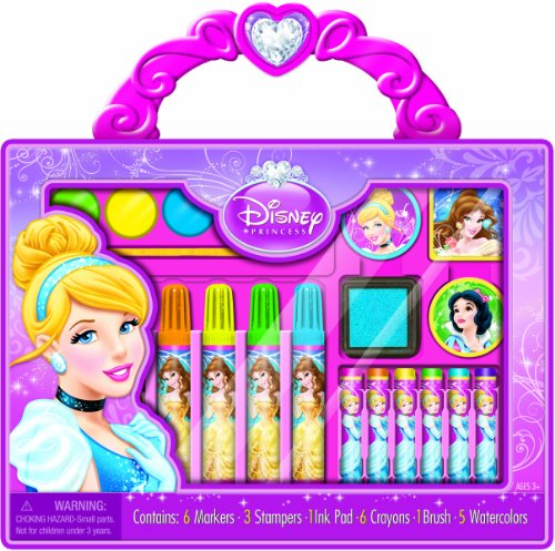Bendon Disney Princess Take-Along Art Case Activity Set