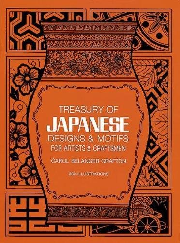 Treasury of Japanese Designs and Motifs for Artists and Craftsmen (Dover Pictorial Archive)