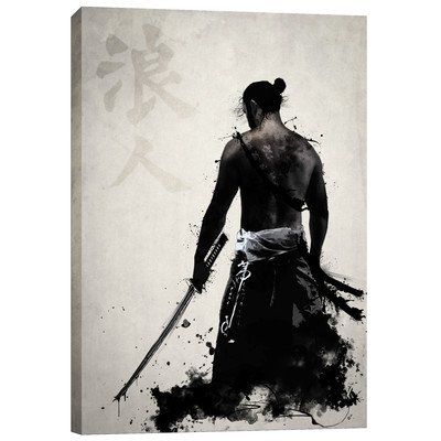 "Cortesi Home ""Ronin"" by Nicklas Gustafsson, Giclee Canvas Wall Art, 28″x40″"