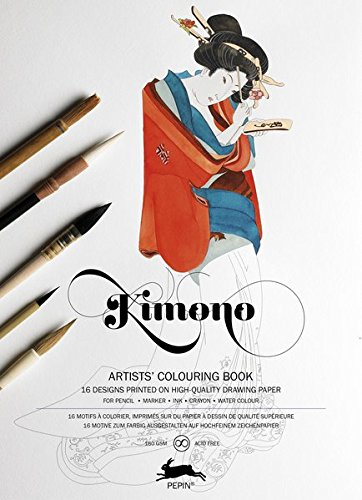 Pepin Press Pepin Press Kimono : ARTISTS'COLOURING BOOK (98062 )