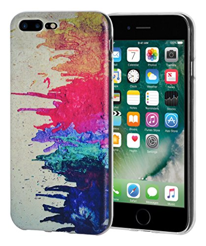AMZER Soft Gel Designer Graphic TPU Skin Case Skin for Apple iPhone 7 Plus – Abstract Modern Art